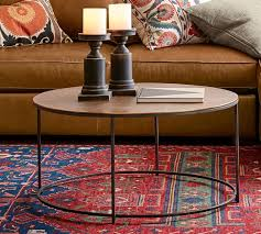 wes round coffee table