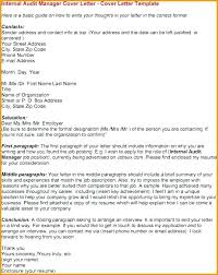 Sample Cover Letter For Internal Position Audit Director Cover Letter Noithat190 Co