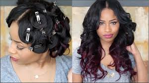 Pin Curl Hair Style how to pin curl that hair youtube 6153 by stevesalt.us