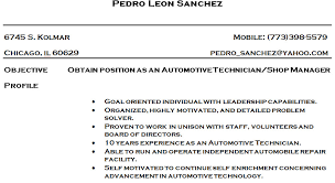 mechanic resume car technician resume s technician lewesmr car technician resume s technician lewesmrsample resume of car technician resume