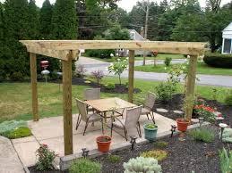 Cheap Patio Decorating Ideas No Grass Backyard Inexpensive Pavers