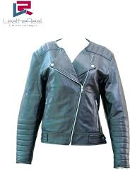 real leather jackets womens home women jackets leather jacket real sheep motor cycle jacket without collar