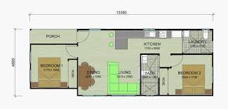 granny flat floor plans 2 bedroom banksia 63m option 1 n98 floor