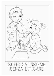 Disegni Di Bambini Che Giocano Semplicistico 15 Disegni Di Bambini A