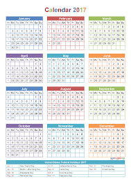 yearly calendar 2017 template 2017 printable yearly calendar with holidays calendar template 2018