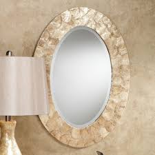 Oval Mirrors Bathroom Oval Vanity Mirrors For Bathroom Home Design Ideas