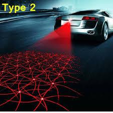 Bmw E46 Brake Warning Light Car Styling Anti Collision Rear End Car Laser Tail 12v Led Fog Light Auto Parking Lamp Warning Light For Volkswagen For Bmw E46