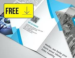 Downloadable Brochure Templates Three Page Brochure Template Free Pamphlet 3 Fold Brochures Tri