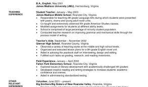 Sample Of Resume For Teacher And Teacher Resume Writing Best