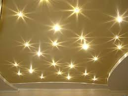 kids room ceiling lighting. golden stretch ceiling film with led lights for kids room decorating lighting a