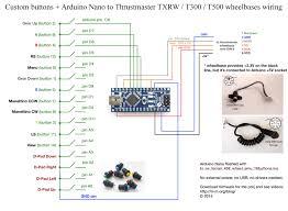 arduino nano wiring diagram arduino image wiring arduino nano controlled buttons for thrustmaster wheelbases part on arduino nano wiring diagram