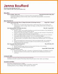 11 Resume Examples College Students Letter Signature