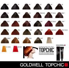 Goldwell Topchic Hair Dye Colors Mixing Hair Color Hair
