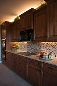 great example of under cabinet lighting from inspired led at lights blog