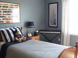 ... Boys Blue Bedroom Cool 3 Remodelaholic | Blue Boys Bedroom Makeover  With Chevron Curtains ...