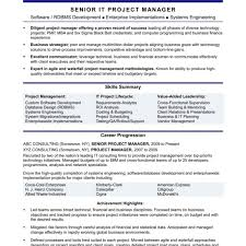 Archaicawful Project Resume Format Manager Sample Java Lead Hvac ...