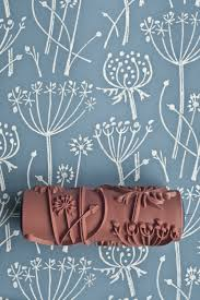Meadow Flutter Patterned Paint Roller