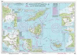 Imray Charts Caribbean Imray Nautical Chart Imray A24 Anguilla St Martin And St Barthelemy