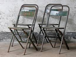 vintage metal folding chairs. Delighful Chairs Vintage Green Metal Folding Chair Thumbnail To Chairs G