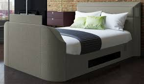 tv in bed. 135cm bedstead medford media tv in bed