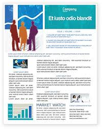 Microsoft Office Word Newsletter Templates Workplace Newsletter Templates In Microsoft Word Adobe