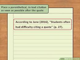 easy ways to cite a quote pictures wikihow image titled cite a quote step 8