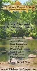 Upper French Broad Map River Rosman Nc