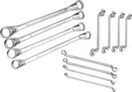 Ring Spanner Size Chart Taparia 1812n Double Ended Ring Spanners Set