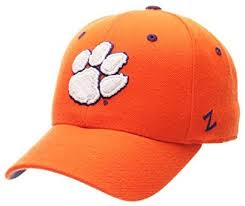 Zhats Size Chart Zhats Ncaa Clemson Tigers Mens Dh Fitted Cap Orange Size