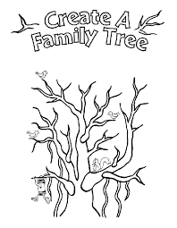 Small Picture Family Tree Coloring Page crayolacom