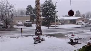 snow in las cruces new mexico december 26th 2016