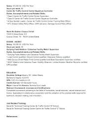 Controller Resume Example Air Traffic Controller Resume 3 Air ...