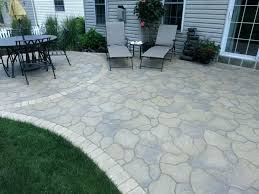 flagstone vs pavers concrete patio vs flagstone patio vs on modern small home remodel ideas with