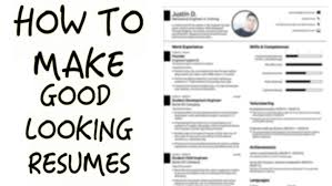 How To Construct A Good Resume ~ Sevte