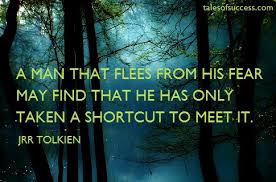 Jrr Tolkien Quotes On Christianity Best Of Quotes About Fear A Year Without Fear Pinterest Famous Quotes