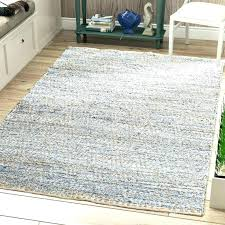 woven leather rug leather woven rug jute leather weave rug hand woven natural blue jute area woven leather rug