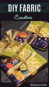 diy gift for the office diy fabric coasters diy gift ideas for your boss