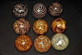Decorative Spheres For Bowls Decorative Balls Camel Fruit Balls Natural Decorative Balls To Put 2