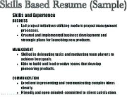 Resume Skills Sample New Examples Of Skills And Abilities In Resume Together With Sample