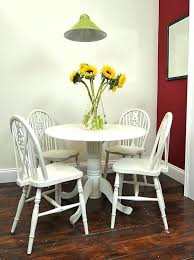 white round table and chairs shabby chic small kitchen table glamorous white round table and chairs