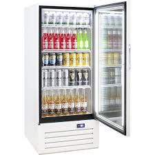 schmick 1 glass door commercial bar fridge with 43 x height adjustments