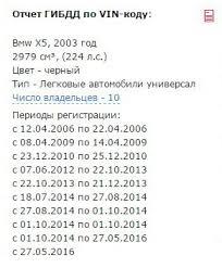 drom ru запустил проверку объявлений через базы ГИБДД Пример отчёт когда в ПТС много владельцев