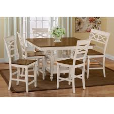 chesapeake ii dining room counter height table value city furniture
