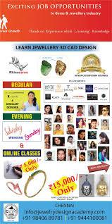 Jewellery Design Short Course Malaysia Online Jewellery Design Training Institute Rhino 3d Cad