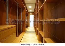 empty walk in closet. Empty Walk In Closet - Stock Photo Empty