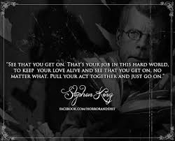 Stephen King Quotes On Love Custom Stephen King Quotes On QuotesTopics