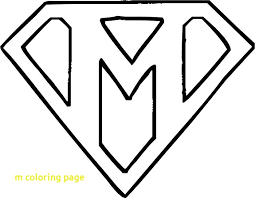 fancy letter m m coloring page elegant printable fancy letter within pages plans 7