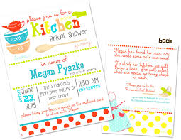 Kitchen Themed Bridal Shower Wedding Shower Invitations Pinterest Photo Diy Bridal Shower