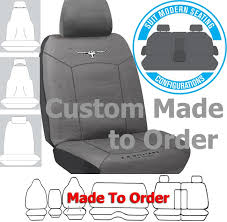 rm williams cotton canvas car seat covers charcoal size custom made free