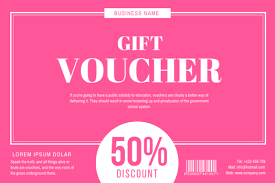 Create A Voucher Classy 48 Gift Voucher Designs Create Your Own Marketing Materials Online